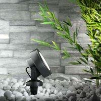 Tommy LED-Erdspieß-Außenspot 10W warmweiß, schwarz