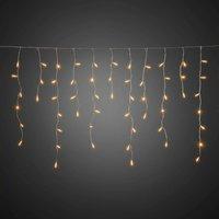 LED-Lichtervorhang Eisregen für außen, 96-flammig