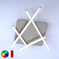 Steuerbare LED-Deckenleuchte Lola-Simon 51 cm