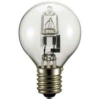 E14 42W Halogen Tropfenlampe klar