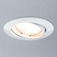 Paulmann Coin LED-Einbauleuchte rund, 3er weiß