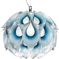 Slamp Flora M - Designer-Hängeleuchte, blau
