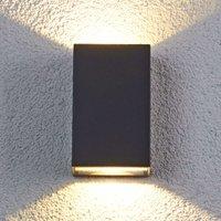 Jale - LED-Außenwandleuchte aus Aluminium