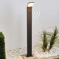 LED-Wegeleuchte Timm mit Bewegungsmelder, 100 cm