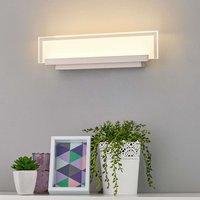 LED-Wandleuchte Teja mit Glasplatte