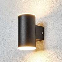 Effektvolle LED-Außenwandleuchte Morena