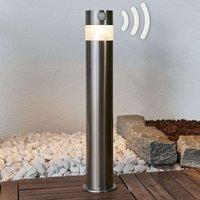Kalypso - Solar-LED-Sockellampe aus Edelstahl