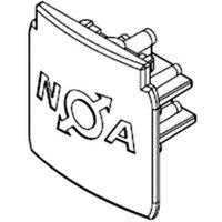 Endkappe für 3-Phasen-Stromschiene Noa, schwarz