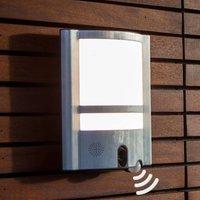 Secury'Light Vesta LED-Außenwandleuchte mit Kamera