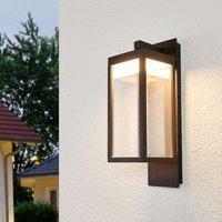 Laternenförmige LED-Außenwandleuchte Ferdinand