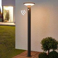 LED-Wegeleuchte Jersy mit Solarpanel, 100 cm