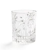 Palem Engraved Glasses, Set of 4.
