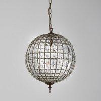 Haru Globe Pendant Light with Tassels