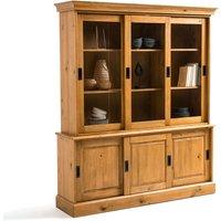 Authentic Style Solid Pine 6-Door Sideboard Dresser