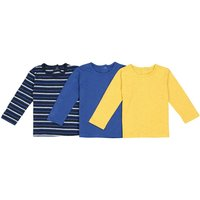 Pack of 3 Long-Sleeved T-Shirts, 1 Month-3 Years