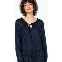 shop for Draping Ruffled Dress at Shopo