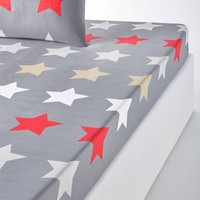 Stars Printed Fitted Sheet