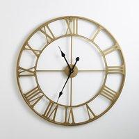 Zivos Brass-Coloured Metal Clock
