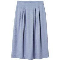 shop for Pleated Midi Skirt in Animal Print Jacquard at Shopo