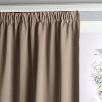 Voda Double-Sided Single Blackout Curtain with Gathered Header