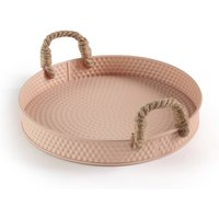 Salmi Iron Tray with Rope Handles
