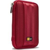 Étui semi-rigide Case Logic QHDC-101R pour disque dur externe 2.5'' (coloris rouge)