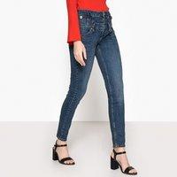 Rampy High Waist Stretch Cotton Skinny Jeans