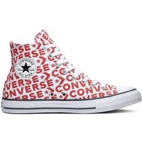 Chuck Taylor All Star Hi Wordmark Canvas High Top Trainers