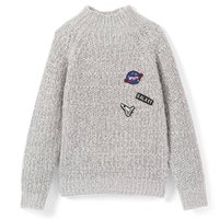Boys Space Patchwork Jumper, 3-12 Years