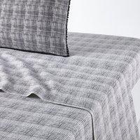Semeru Flat Sheet in Washed Cotton