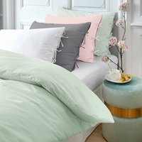 Toscane Washed Cotton Percale Duvet Cover