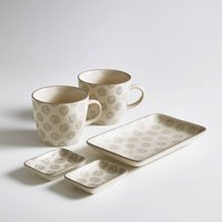 Set of 2 Cups, Bowls and Tray