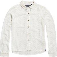 Plain Straight Shirt with Classic Collar