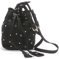 Cobane Studded Suede Bucket Bag