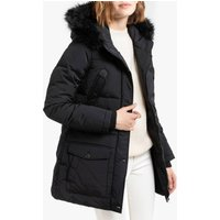 Camille 2W Padded Puffer Jacket with Faux Fur