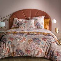 Chinese Flower Cotton Percale Duvet Cover