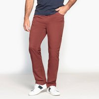 Cotton Straight-Leg Chinos