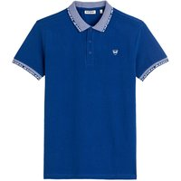 Drazi Cotton Pique Polo Shirt in Regular Fit.