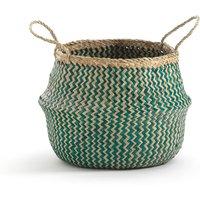 Trebla Small Woven Storage Basket, H28cm