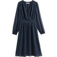 shop for Smocked Wrapover Dress at Shopo