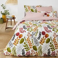 Palm Spring Duvet Cover in Botanical Print Cotton Percale