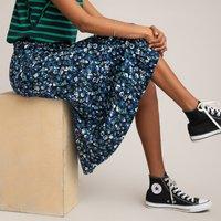 shop for Printed Jacquard Midi Skirt at Shopo