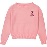 Petite Cherry Embroidered Jumper, 3-12 Years