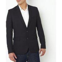 Straight Cut Suit Jacket