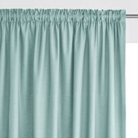 100% Cotton Single Curtain with Gathered Header