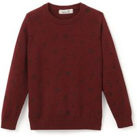 Printed Cotton Crew Neck Jumper 3-12 Years