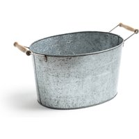 Bendo Galvanised Metal Tub