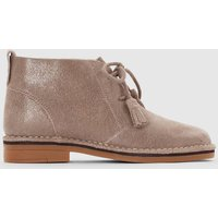 Cyra Catelyn Leather Ankle Boots