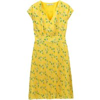 shop for Floral Print Pleated Dress at Shopo