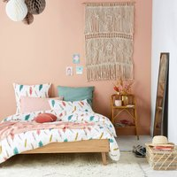 Aino Duvet Cover with Feather Print